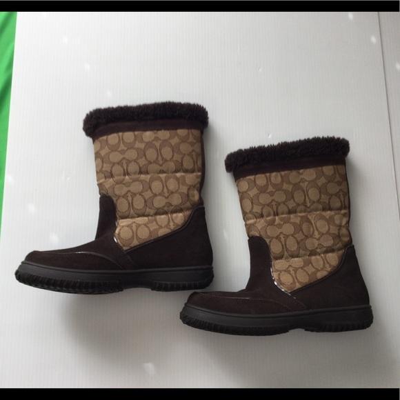 EUC Coach Sherman boots.